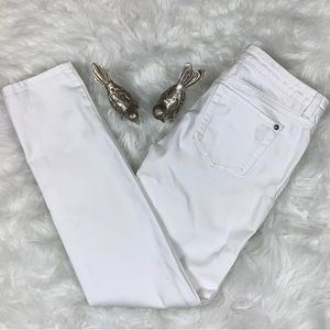Jessica Simpson White Forever Skinny Jeans Size 29